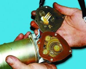 Причины неисправности моторчика стеклоочистителя ВАЗ 2110