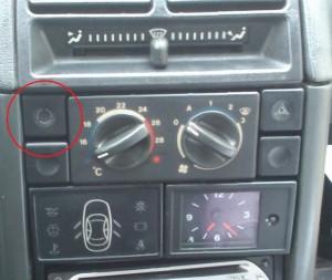 Кнопка рециркуляции ВАЗ 2110