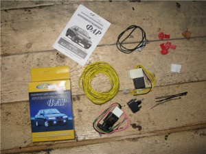 Комплект для подключения противотуманных фар на ВАЗ 2110