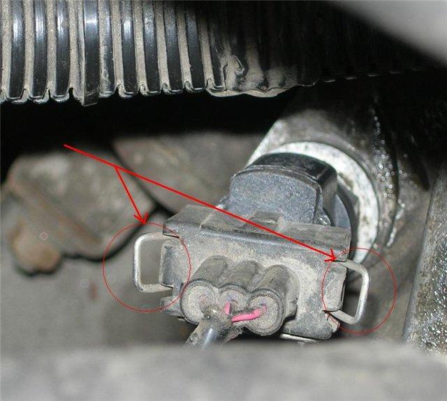 Фото №21 - замена привода спидометра ВАЗ 2110