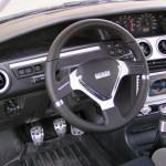 Накладка Каштан панели ВАЗ 2110 (панель приборов по центру)