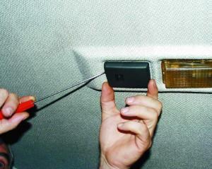 Потолочный датчик температуры воздуха в салоне