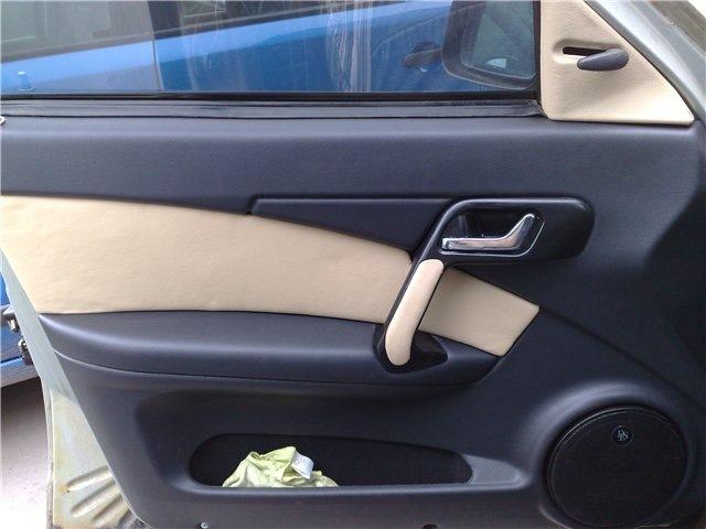 Обтяжка кожей обшивки дверей на нексии - Daewoo Nexia