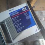 Радиатор отопителя ВАЗ 2110 ДААЗ алюминиевый