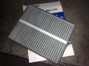Воздушный угольный фильтр для ВАЗ 2110