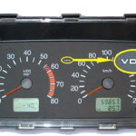 Щиток приборов VDO с двумя окнами. Артикул: 2115-3801010 2115-3801010-04