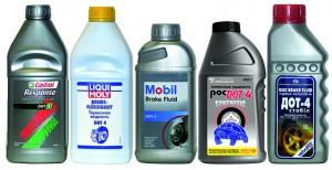 Тормозные жидкости разных производителей