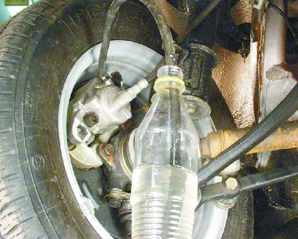 Как прокачать тормоза на ваз 2110 (видео, фото)