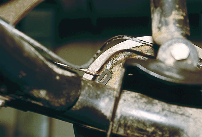 Фото №21 - замена задних тормозных колодок ВАЗ 2110
