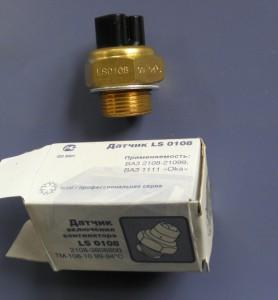На фото - Датчик включения вентилятора LS 0108 (ТМ-108)