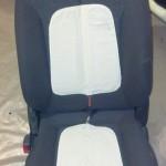 Нагревательные элементы закреплены снаружи сидения