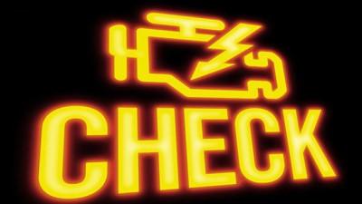 Ошибка двигателя Check Engine