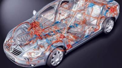 Схема автомобильной проводки
