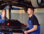 Установка защиты двигателя в автосервисе