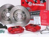 Комплект спортивных тормозов Brembo