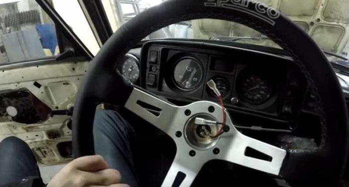 Новый руль Sparco