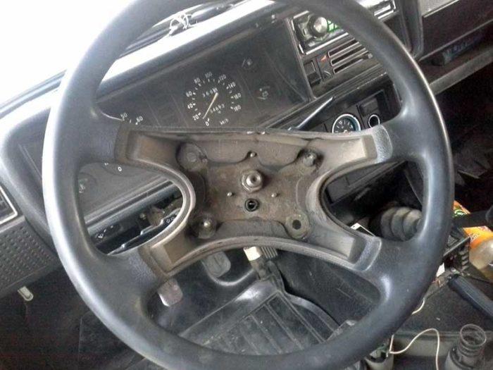 Руль без накладки