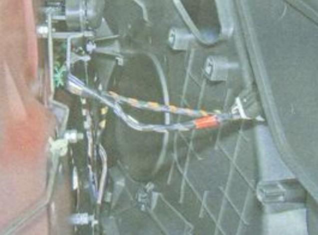 Провода питания стеклоподъёмников Лады Гранты