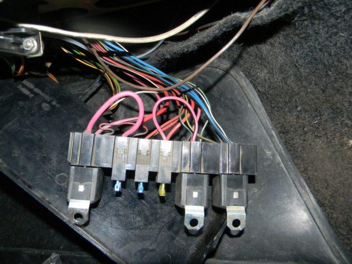 Диагностика электрической цепи бензонасоса в инжекторных ВАЗ 2108/2109