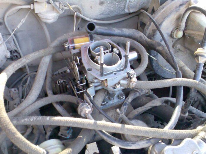 Карбюратор в автомобиле ВАЗ 2109