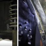 Крепление внутри арки заднего колеса