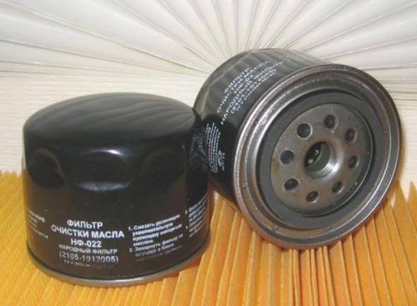 Масляный фильтр на ВАЗ 2106