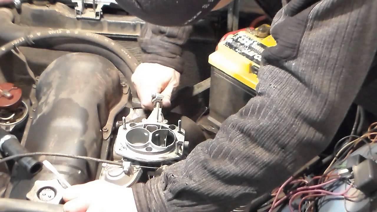 Замена прокладок карбюратора ваз 2107 своими руками