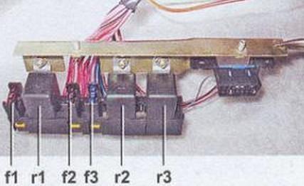 Проверка элементов защиты цепи электрического бензонасоса