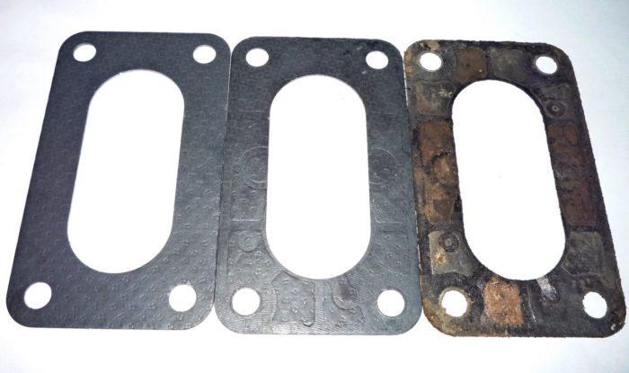 Три прокладки для «Озона» для ВАЗ 2121 разной степени изношенности