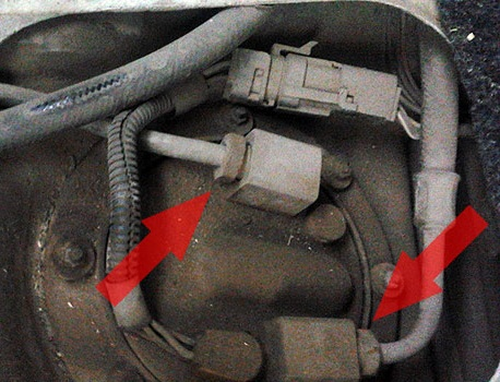 Трубки топливопровода бензонасоса ВАЗ 2108/2109