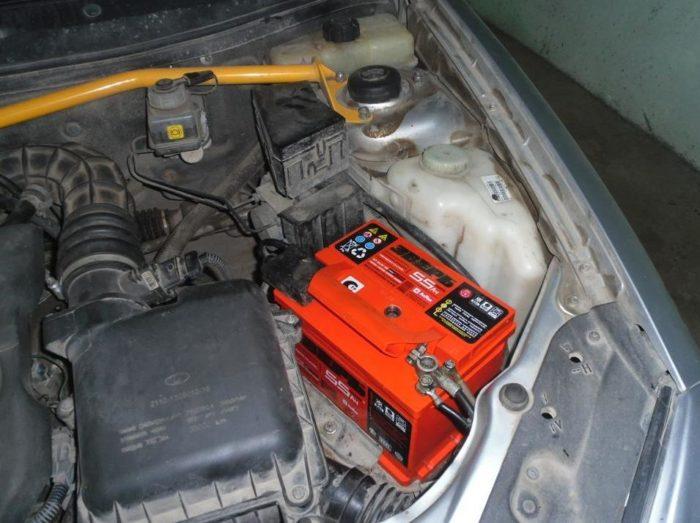 Аккумуляторная батарея «Лада Гранта»