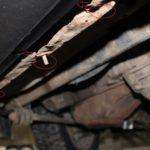 Демонтаж переднего бампера — шаг 1