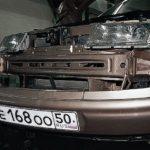 Демонтаж переднего бампера — шаг 6