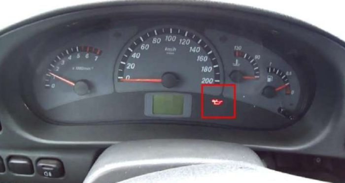 Индикатор давления масла на ВАЗ 2110