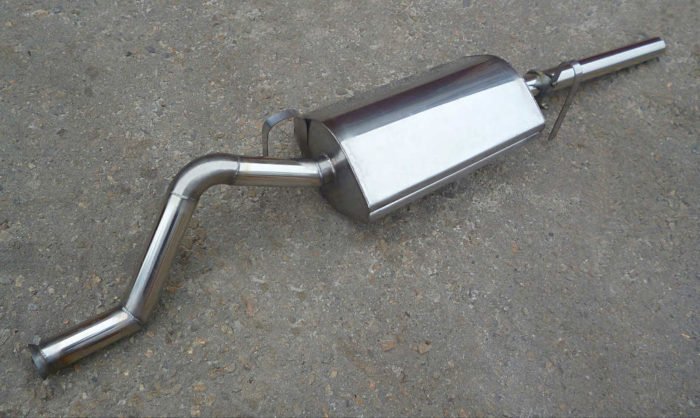Глушитель на ВАЗ 2109