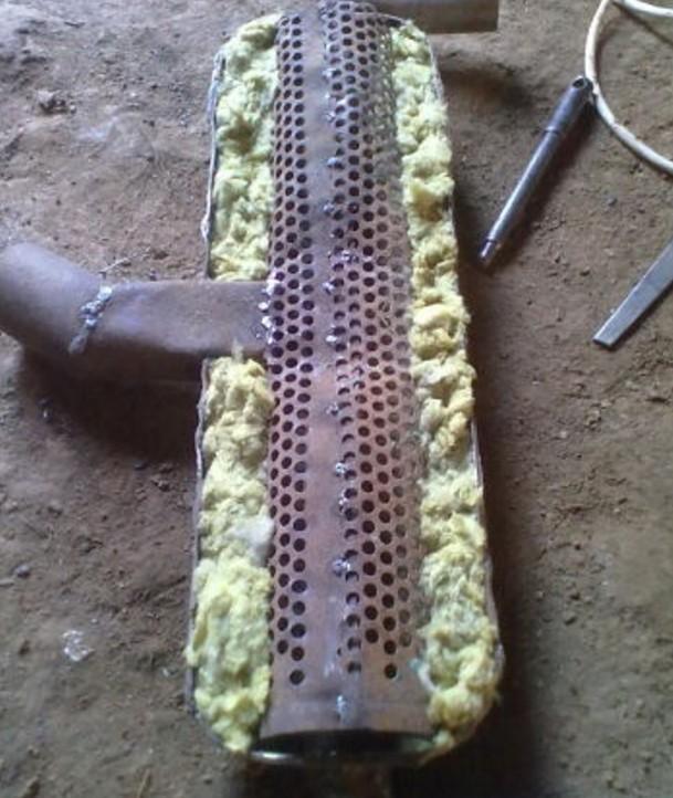 Изолированный корпус глушителя ВАЗ 2109
