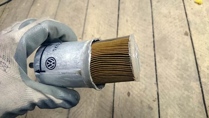 Элемент топливного фильтра тонкой очистки