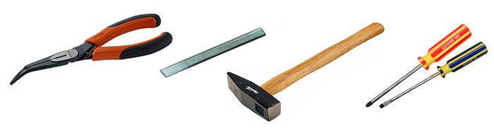 Инструменты для замены фильтра грубой очистки ВАЗ 1118