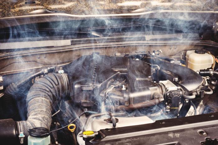 Мотор «закипел»