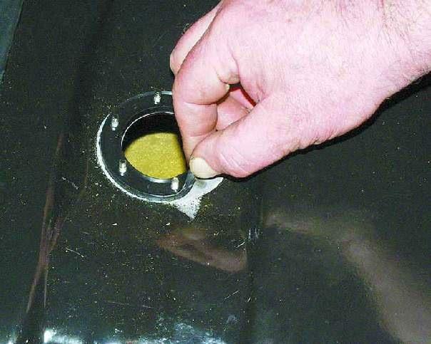 Прокладка датчика уровня топлива