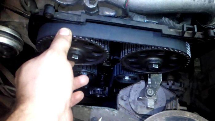 Замена помпы на 16-клапанном моторе