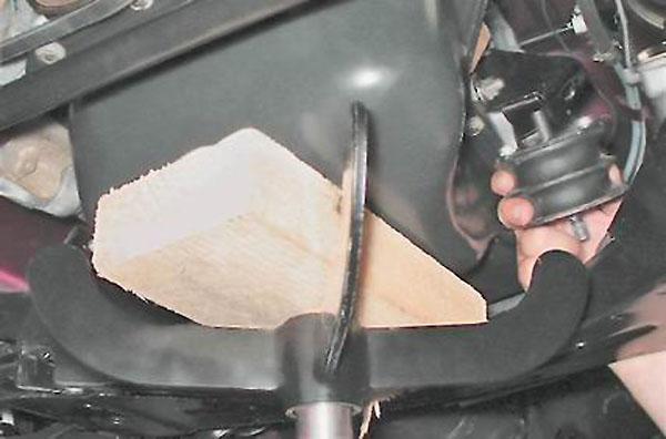 Проставка под двигатель