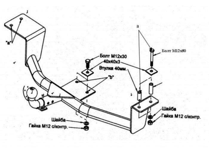 Изготовление фаркопа своими руками
