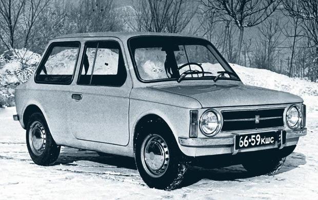 Автомобиль «Чебурашка»