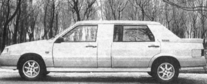 Пилотный проект лимузина ВАЗ-21099