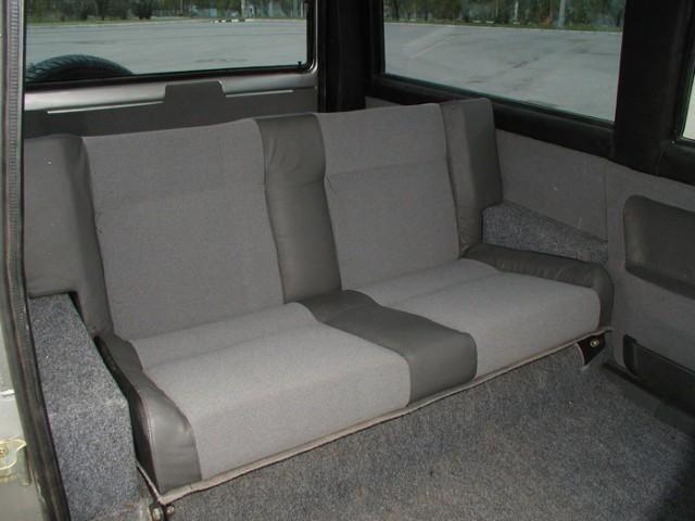 Салон лимузина ВАЗ-21099