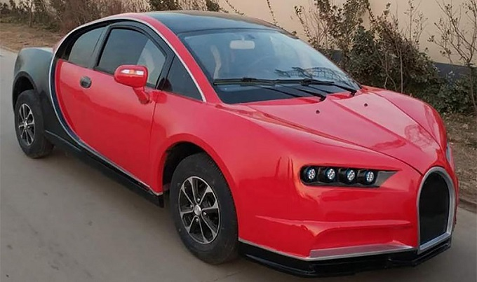 Китайская копия Bugatti Chiron