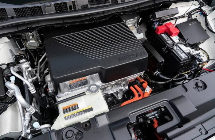 Двигатель Nissan Leaf e+