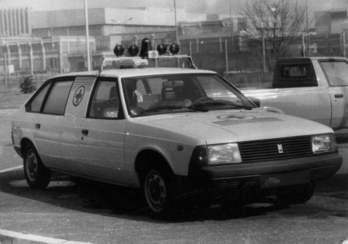 Санитарный автомобиль Москвич
