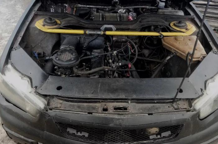 Двигатель переделанной машины